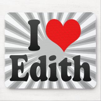 Amo a Edith Tapete De Ratón