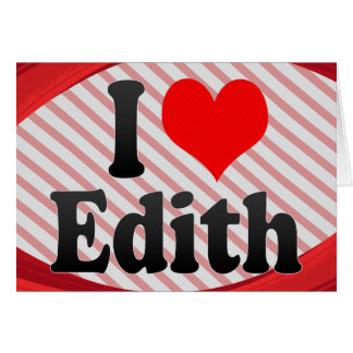 Amo a Edith Tarjeton