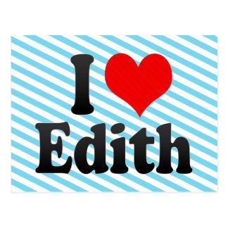 Amo a Edith Postal