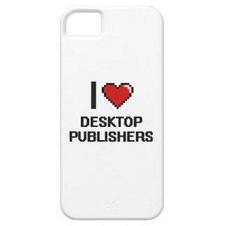 Amo a editores de escritorio funda para iPhone 5 barely there