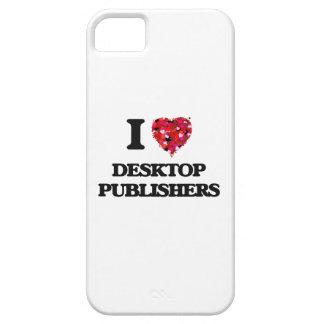 Amo a editores de escritorio iPhone 5 fundas