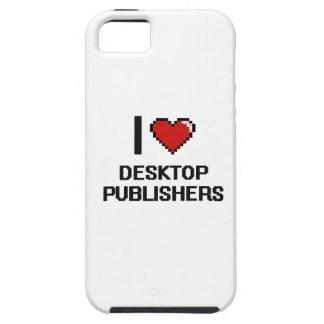 Amo a editores de escritorio iPhone 5 funda