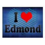 Amo a Edmundo, Estados Unidos Tarjeta Postal