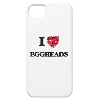 Amo a EGGHEADS iPhone 5 Funda