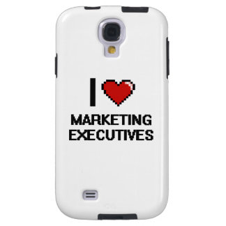 Amo a ejecutivos de marketing funda para galaxy s4