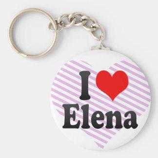 Amo a Elena Llaveros Personalizados