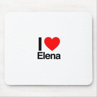 amo a Elena Tapetes De Ratones