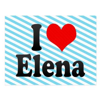 Amo a Elena Postales