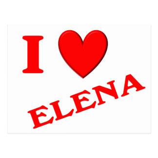 Amo a Elena Postal