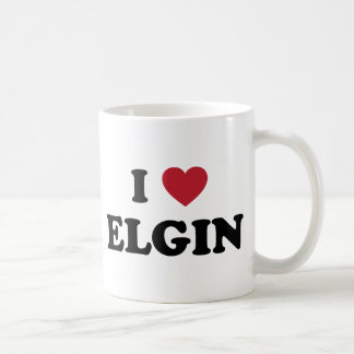 Amo a Elgin Illinois Taza