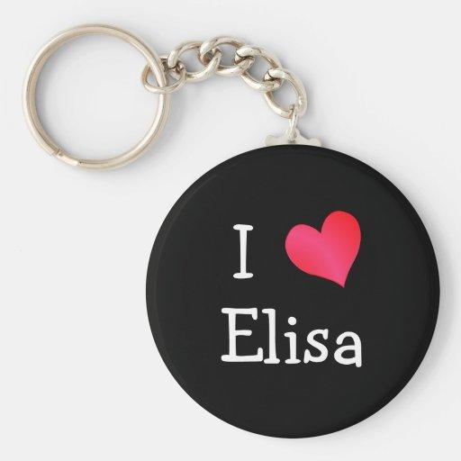 Amo a Elisa Llaveros