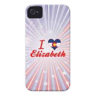 Amo a Elizabeth, Colorado Case-Mate iPhone 4 Funda