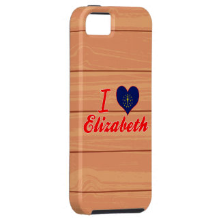Amo a Elizabeth, Indiana iPhone 5 Case-Mate Protectores