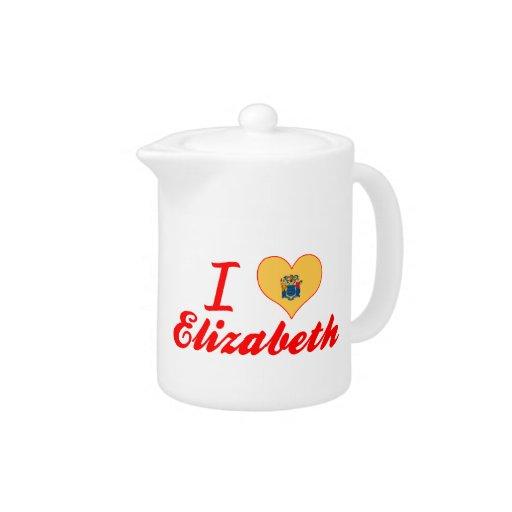 Amo a Elizabeth, New Jersey