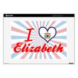 Amo a Elizabeth, Virginia Occidental Portátil 38,1cm Skin