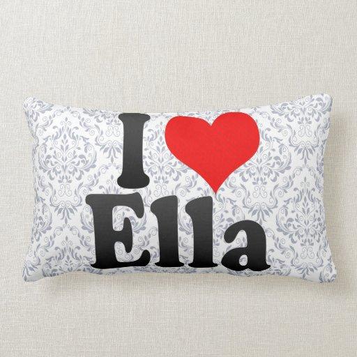 Amo a Ella Almohadas