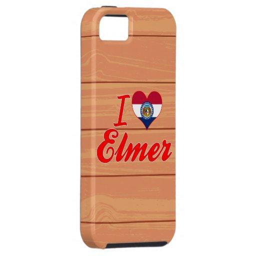 Amo a Elmer, Missouri iPhone 5 Protectores