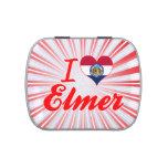 Amo a Elmer, Missouri Jarrones De Caramelos