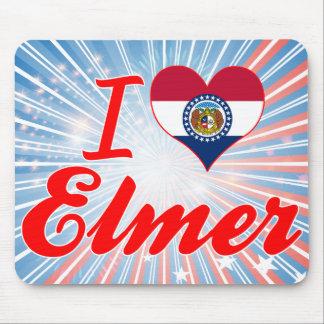 Amo a Elmer, Missouri Tapete De Ratón