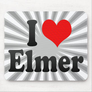 Amo a Elmer Mousepads