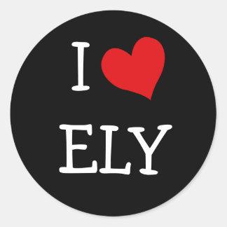 Amo a Ely Etiquetas