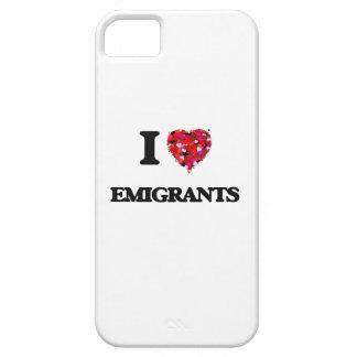 Amo a EMIGRANTES iPhone 5 Funda