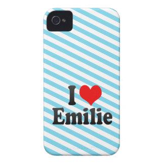 Amo a Emilie iPhone 4 Fundas