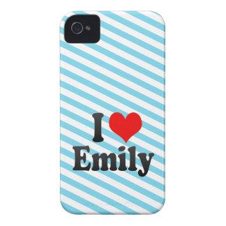 Amo a Emily iPhone 4 Fundas