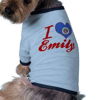 Amo a Emily, Minnesota Camisa De Perrito