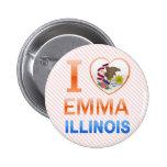 Amo a Emma, IL Pins