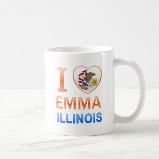 Amo a Emma, IL Taza De Café