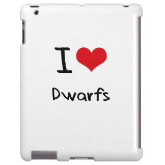 Amo a enanos funda para iPad