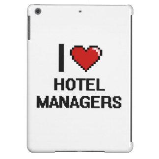 Amo a encargados de hotel funda para iPad air