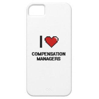 Amo a encargados de la remuneración iPhone 5 Case-Mate protector