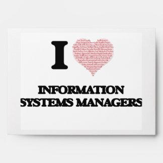 Amo a encargados de los sistemas de información sobre