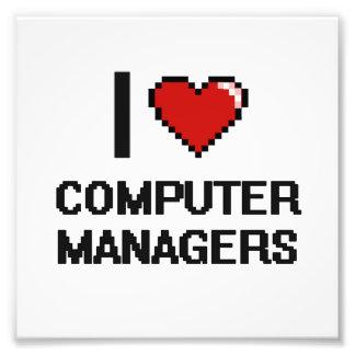 Amo a encargados de ordenador cojinete