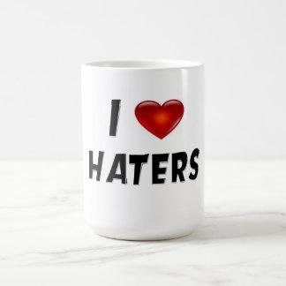 Amo a enemigos taza básica blanca