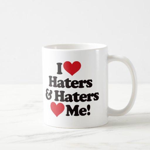 Amo a enemigos y los enemigos me aman taza
