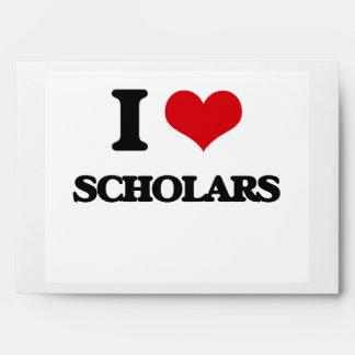 Amo a escolares sobres