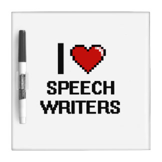 Amo a escritores de discurso pizarra