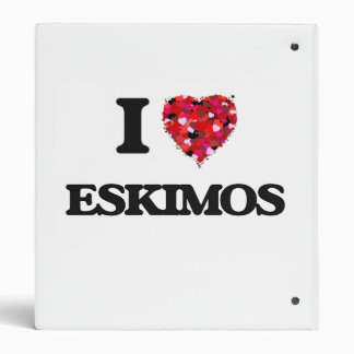 """Amo a ESQUIMALES Carpeta 1"""""""