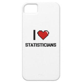 Amo a estadísticos iPhone 5 Case-Mate protector