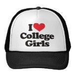 Amo a estudiantes universitarias gorra