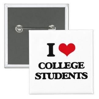 Amo a estudiantes universitarios pin