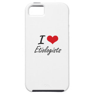 Amo a Etiologists iPhone 5 Carcasa