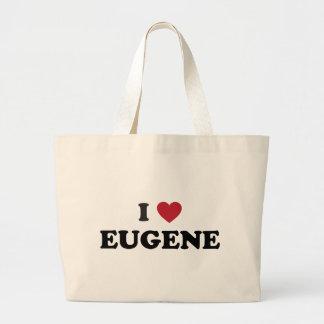 Amo a Eugene Oregon Bolsas Lienzo