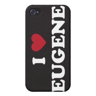 Amo a Eugene Oregon iPhone 4/4S Funda