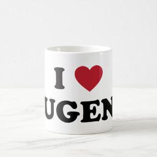 Amo a Eugene Oregon Tazas
