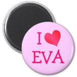Amo a Eva Iman De Frigorífico