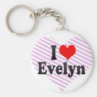 Amo a Evelyn Llaveros Personalizados